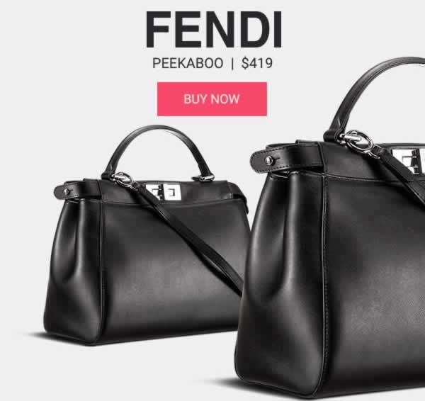 Fendi Peekaboo Designer Bag Replica